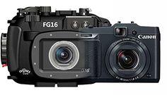 Canon G16 Digital Camera & Underwater Waterproof Housing by Fantasea 13911