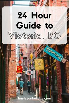 My guide to one day or 24 hours in Victoria, British Columbia. Featuring the best things to do and places to eat in BC's capital city. things to do in Victoria BC Canada Vancouver, Victoria Vancouver Island, Vancouver Travel, Vancouver Vacation, Seattle Travel, Brisbane, Perth, Melbourne, Victoria Bc Canada