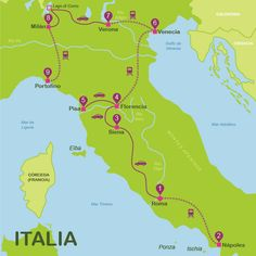 Italy travel guide and all the tourist information you need to travel to Italy. Rome Travel, Travel Maps, Italy Travel, Italy Vacation, Europe Destinations, Holiday Destinations, Things To Do In Italy, Best Of Italy, Italy Map