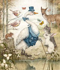 Old Fairy Tale Illustrations   Fairy Tales Illustrations by Julian De Narvaez   justinlovewithberni More