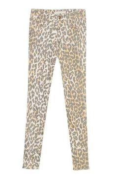 #JoesJeans #leopard print jeans