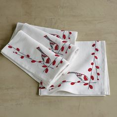 Holiday Table Linen Napkins | The Company Store