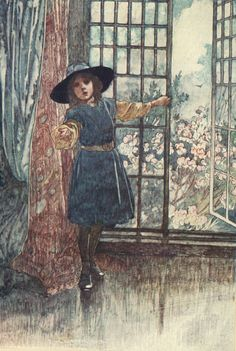 """""""That's fresh air,"""" she said. """"Lie on you back and draw in long breaths of it"""" The Secret Garden"""" – Francis Hodgson Burnett (Heinemann, Second Impression 1912)"""