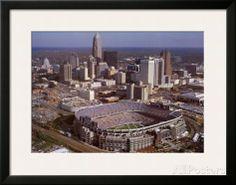 Carolina Panthers - Bank of America Stadium Art by Brad Geller at AllPosters.com