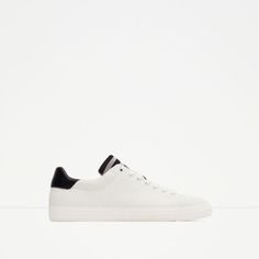 ZARA - COLLECTION SS16 - STRIPED TONGUE SNEAKERS