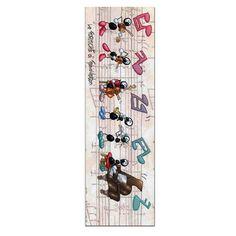 Segnalibro in carta FV01-06   Le Formiche di Fabio Vettori #segnalibro #book #libro #formiche #gift #leggere #strumentimusicali #music #musica #orchestra