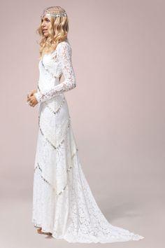 Nomadic Love | Rue De Seine Wedding Dress Collection | Bridal Musings Wedding Blog 94