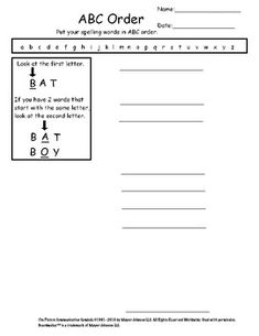 Weekly Spelling Worksheets for Kids with Autism | Autism, School ...