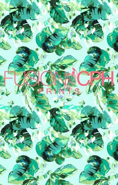 Tropical print.. from Fusion CPH print design studio from Copenhagen. We design all kind of prints for fashion and interior textiles. See some of our unique prints at Instagram: fusioncph or at www.fusioncph.com Tropical Prints, Mixed Prints, Copenhagen, Print Design, Textiles, Sugar, Studio, Unique, Interior
