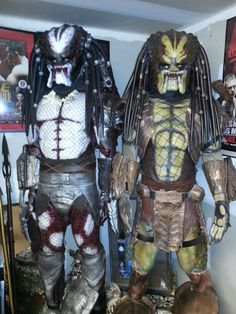 by Chad Rhodes Predator Costume, Predator Cosplay, Predator Alien, Xenomorph, Spawn, Sci Fi Fantasy, Rhodes, Enemies, Cosplay Costumes