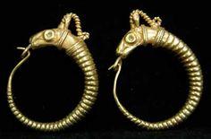 "Origin: Europe Circa: 18 th Century AD to 19 th Century AD Dimensions: 1.6"" (4.1cm) wide Collection: Jewelry Medium: Gold  £1,800.00 Location: Great Britain"