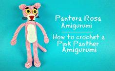 Pantera Rosa Amigurumi | How to crochet a Pink Panther Amigurumi