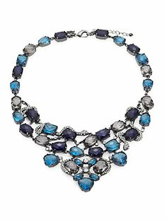 ABS by Allen Schwartz Jewelry - Jewel Bib Necklace - Saks.com