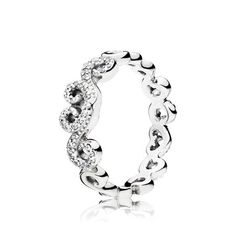 811fbdd14 Swirl with style all the way to your fingertips with this sterling silver  ring, formed