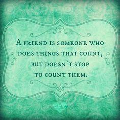 Inspirational friends