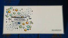 #stampinup #kommunion #kommunionskarte #einladung #einladungskarte  Guten Morgen!  Da mir der Hintergrund für die letzte Geburtstagskarte so gut gefallen und Spass gemacht hat,  habe ich ihn gleich für unsere Einladungen zur Kommunion verwendet. 😀 ist zwar total untypisch und weit weg von einer klassischen Kommunionseinladungskarte (wow, was für n langes Wort) aber ich finde sie passt zum Kind und zu uns! Wünsche euch einen guten Start in die Woche!