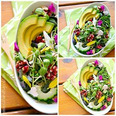 Super Alkalizing 'Almost Spring' Salad // super fresh, tasty and healthy, can't wait to try via eat whats good #detox #cleaneating