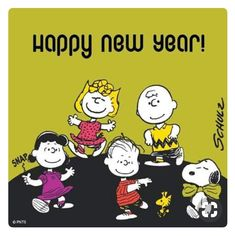 Happy New Year - Snoopy, Woodstock and the Rest of the Peanuts Gang Dancing Snoopy Happy New Year, Snoopy Love, Charlie Brown Quotes, Charlie Brown And Snoopy, Peanuts Cartoon, Peanuts Snoopy, Snoopy Pictures, Funny Pictures, Snoopy Feliz