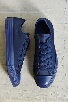 Converse Chuck Taylor All Star | Nylon Monotone Sneaker | Navy