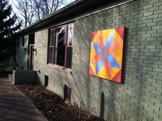 How to Paint a Barn Quilt -- via wikiHow.com