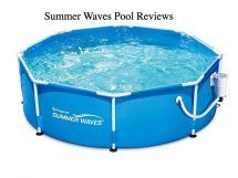 Summer Waves 8 Metal Frame Above Ground Family Swimming Pool Set W/ Filter Pump