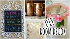 DIY Room Decorations for Cheap!