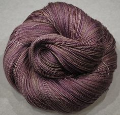 Hand Dyed Alpaca / Silk Lace weight. ASL 22 by yarnandfibre, £21.50