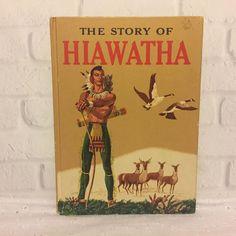 The Story of Hiawatha 1951 Vintage Childrens Book Allen Chaffee Random House    Books, Fiction & Literature   eBay!