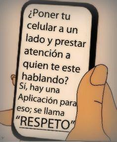 El respeto, por encima de todo.