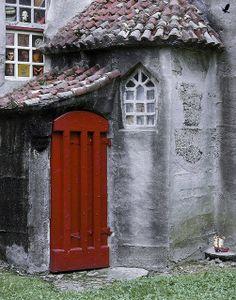 Red door. Pennsylvania