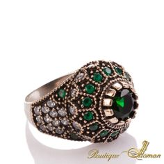 #luxury Hareem Exclusive Collection Ring HS-0015  #jewelry #ottoman