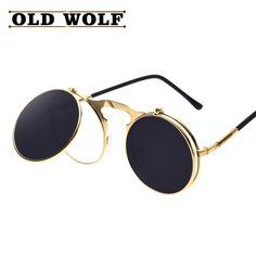$5.45 (Buy here: https://alitems.com/g/1e8d114494ebda23ff8b16525dc3e8/?i=5&ulp=https%3A%2F%2Fwww.aliexpress.com%2Fitem%2FSteampunk-Gothic-Sunglasses-Round-Designer-steam-punk-Metal-Clamshell-Double-Frame-women-Sunglasses-Men-Retro-Circle%2F32709598324.html ) Steampunk Gothic Sunglasses Round Designer steam punk Metal Clamshell Double Frame women Sunglasses Men Retro Circle shade sun for just $5.45