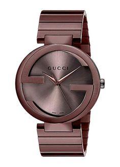 7587da3f35e Gucci Swiss Quartz Metal and Alloy Dress Brown Men s Watch(Model  YA133211)  Review