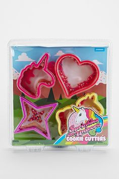 Unicorn Cookie Cutter Set - Urban Outfitters