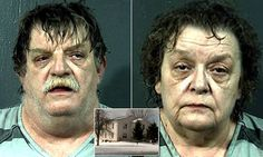 David and Rejeana Moss, from Dorset Township, Ohio, would lock the four children in the basement for most of the day, only letting them out briefly to go to the bathroom and do homework.