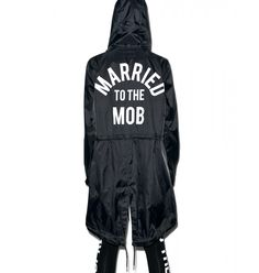 #Desired: I'd give more than money to get my mitts on one of these! <3   Married to the Mob Arch Mob Parka $138