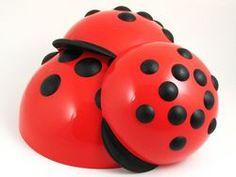 Ladybug Mixing Bowl Set