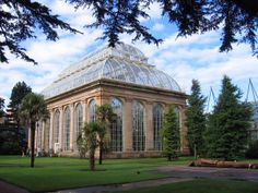 The Palmhouse at the Royal Botanic Garden, Edinburgh, is one of 25 glasshouses in this spectacular garden.