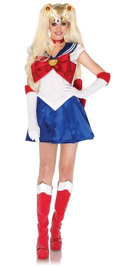 Sailor Moon Adult Costume,$79.99