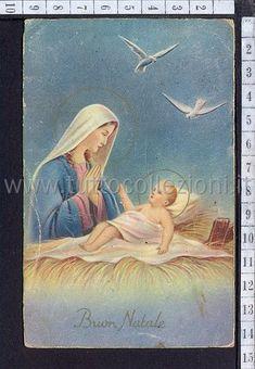 Natalizie Religiose cartoline postali tematiche, Topics Postcards - TuttoCollezioni.it il sito per collezionisti