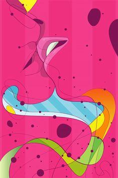 Illustrations by Rubens LP | Inspiration Grid | Design Inspiration