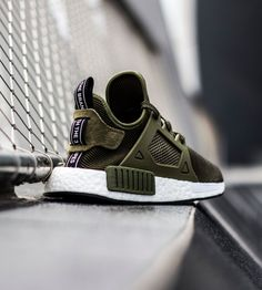 "trillaparade: "" Adidas NMD XR1 Olive. """