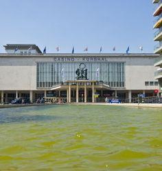 Oostende, het Casino Kursaal.