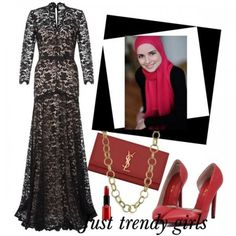 Soiree dresses for the veiled woman | Just Trendy Girls