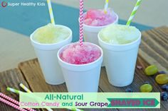 No added sugar, only fruit and it really does taste like cotton candy!  #summerfun #healthytreat by Super Healthy Kids