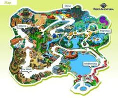 PortAventura is a theme park and a resort in Salou, Catalonia, Spain