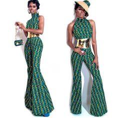 ♥African Fashion jumpsuit