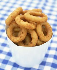 How to Make Onion Rings Using Pancake Mix                                                                                                                                                                                 Más