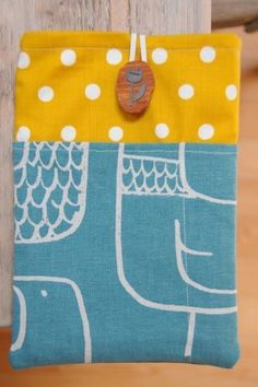 How to make a pda. A Simple Kindle Fire Slip Case - Step 1