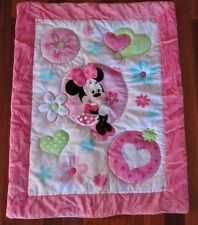 MINNIE MOUSE Baby Girl Hot Pink Cot Quilt + Appliques ***BRAND NEW*** ,Melbourne, Australia ,FVStore.com